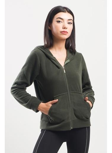 Slazenger Slazenger SOFAL Kadın Sweatshirt Haki Haki